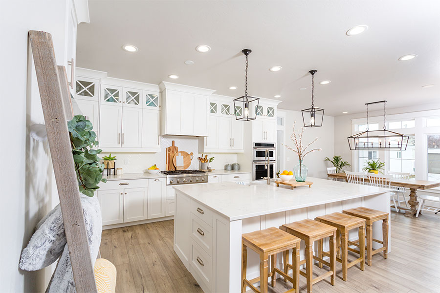 Personal Insurance - Modern Farmhouse Kitchen Interior
